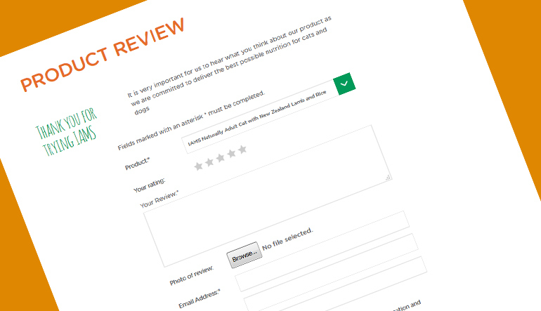 Share our thoughts about IAMS Naturally via reviews