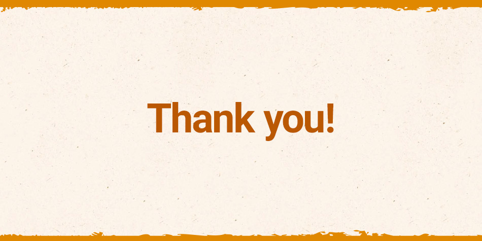 Thank you for participating in our IAMS Naturally project