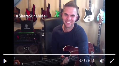 See how Sandy Beales has spread the word!